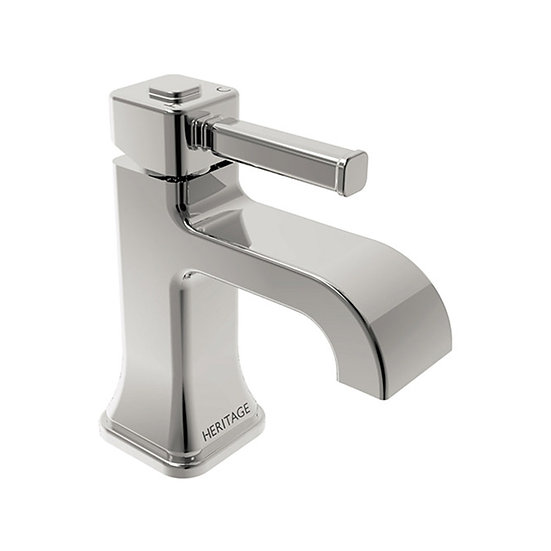 Somersby 1 Taphole Basin Mixer | Heritage Chrome