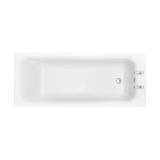 Granley Deco Acrylic Single Ended Fitted Bath 385 mm High | Heritage