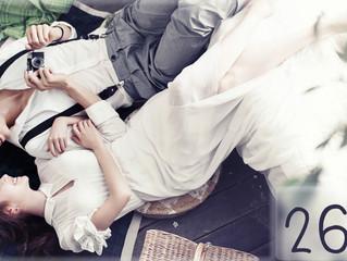 ท่าโพสถ่ายรูป แต่งงานสไตล์เกาหลี