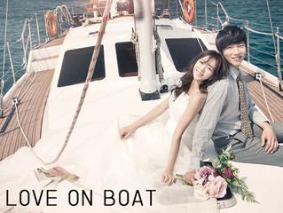 Prewedding: Love on Boat