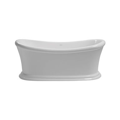 Orford Freestanding Acrylic Double Ended Slipper Bath | Heritage