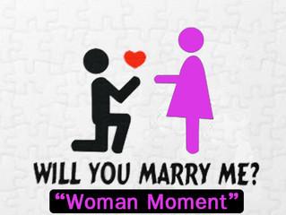 ความรู้สึกของผู้หญิงตอนถูกขอแต่งงาน