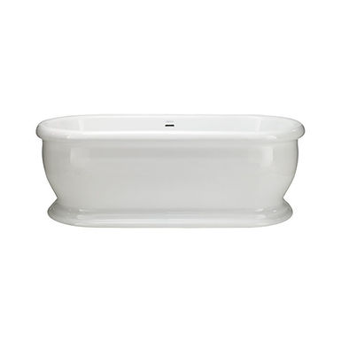 Derrymore Freestanding Acrylic Double Ended Roll Top Bath | Heritage