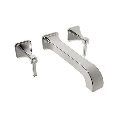 Somersby Wall Mounted Bath Filler | Heritage