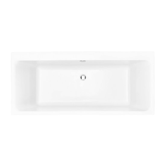 Blenhiem Acrylic Double Ended Fitted Bath 470mm High | Heritage