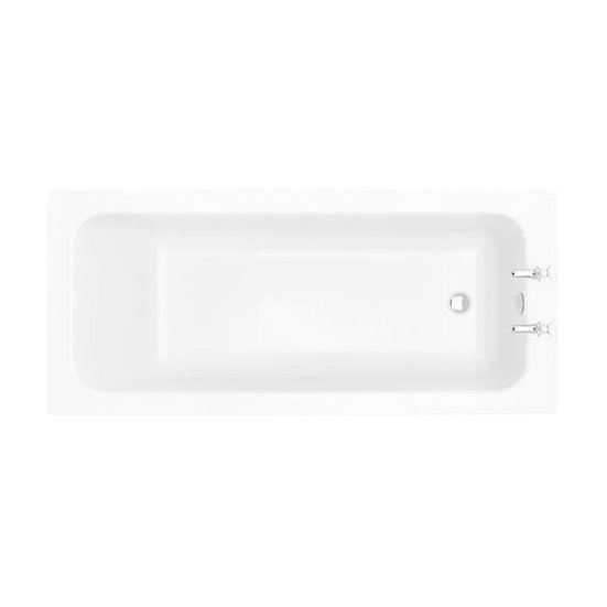Wynwood Acrylic Single Ended Fitted Bath | Heritage
