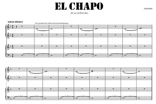 EL CHAPO FOR ACCORDION DUO