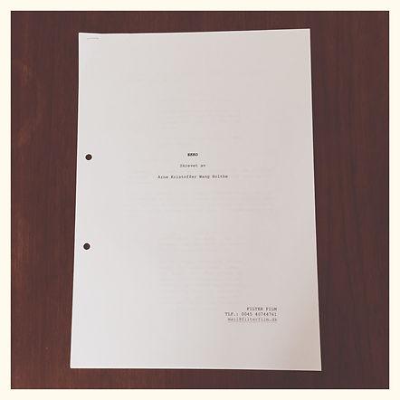 Filter Film - manuscript