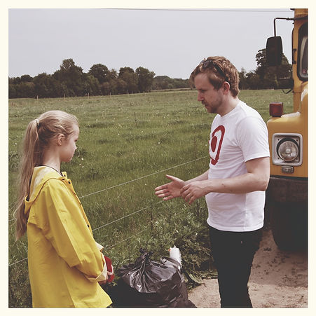 Filter Film - Director Arne Kristoffer Wang Holthe and actress Mine Skovfoged Gezgin.