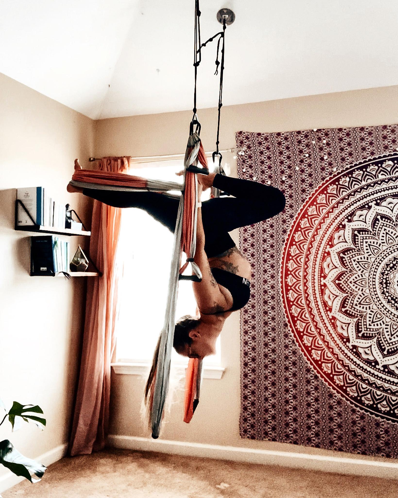 Virtual Yoga Trapeze® Class