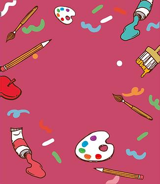 Brinquedos para colorir e pintar