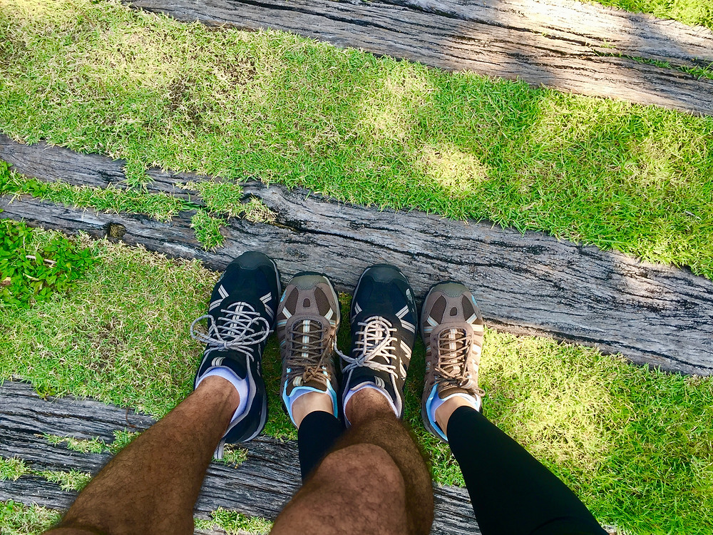 Hiking shoes partnership