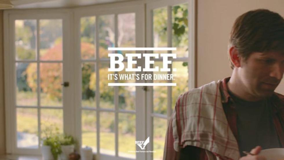 Nicely done, beef.