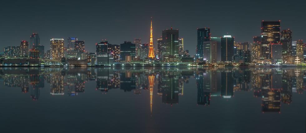 Tokyo skyline...
