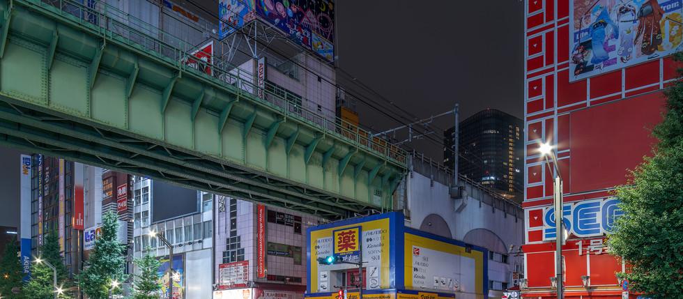 Akihabara chuo line bridge