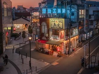 Ambiance nocturne de Tokyo