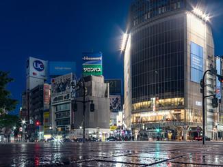 Carrefour de Shibuya 3h du matin