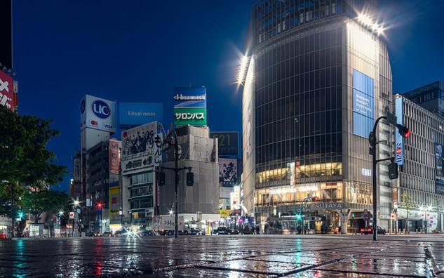 Shibuya crossing 3AM