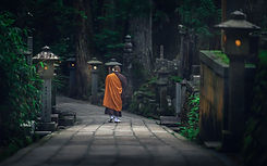 Koyasan Monk-Nicolas Wauters Japan workshop