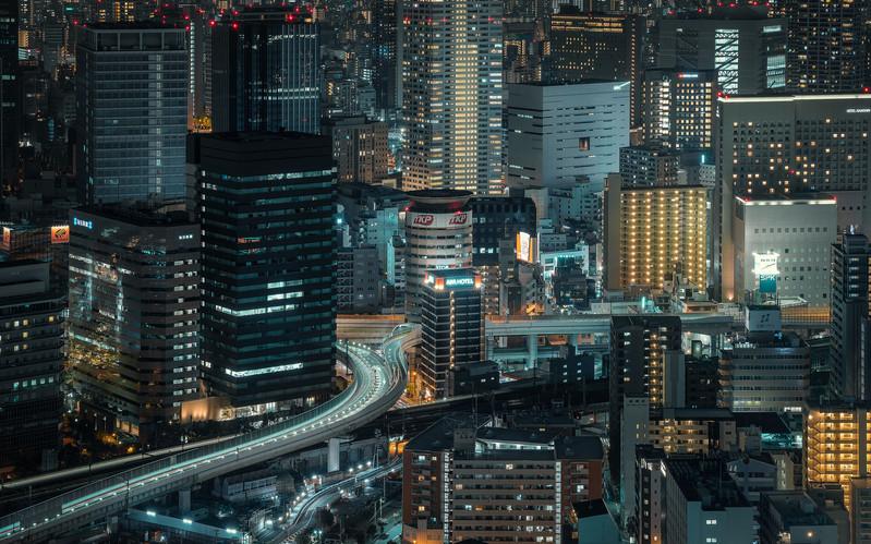 Nicolas Wauters Japan photography and Workshops - Osaka City