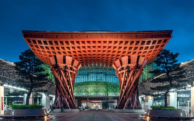 La gare de Kanazawa