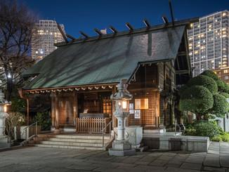 Quiet Tokyo & temple