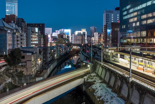 Ochanomizu at night