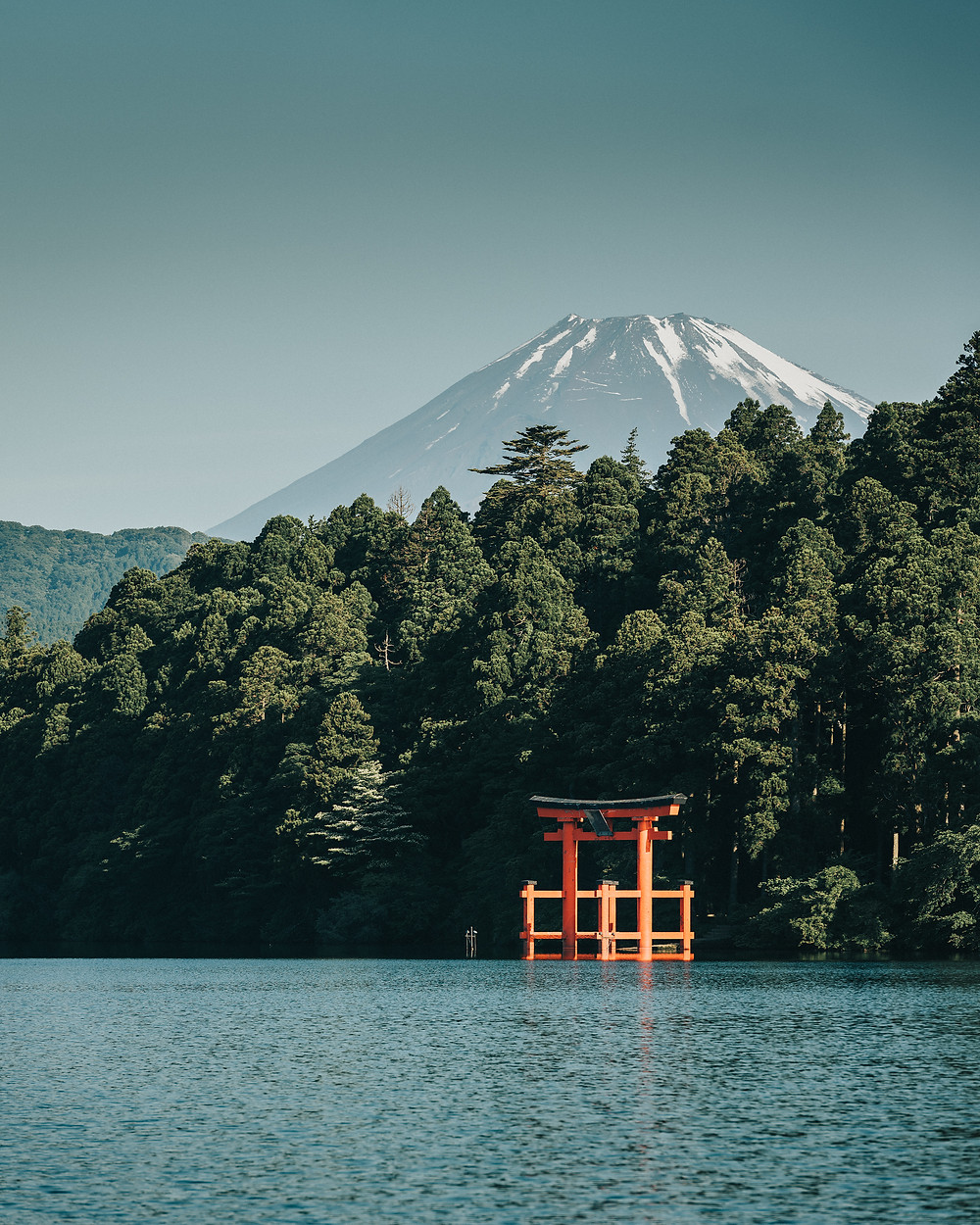 A view of the mount-fuji from Hakone