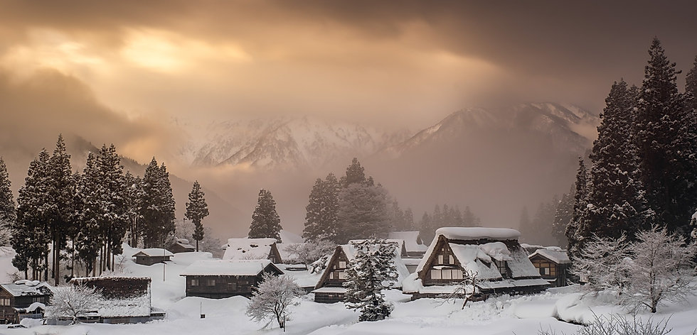 Voyage photo Japon en hiver