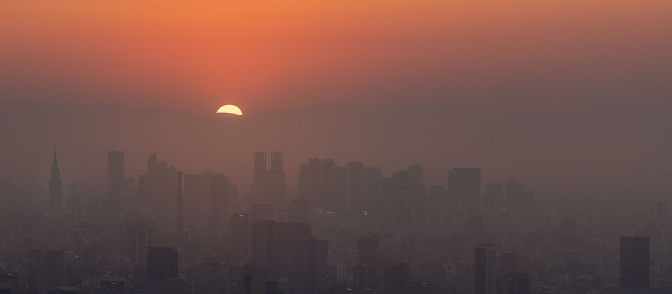 Tokyo when the sun goes down!