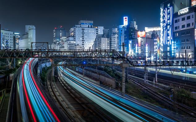 Ikebukuro trains