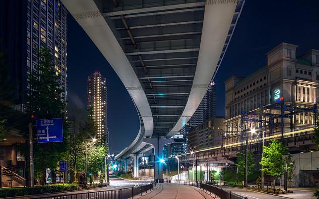 Under the Tokyo train