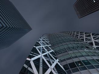 Le ciel de Shinjuku
