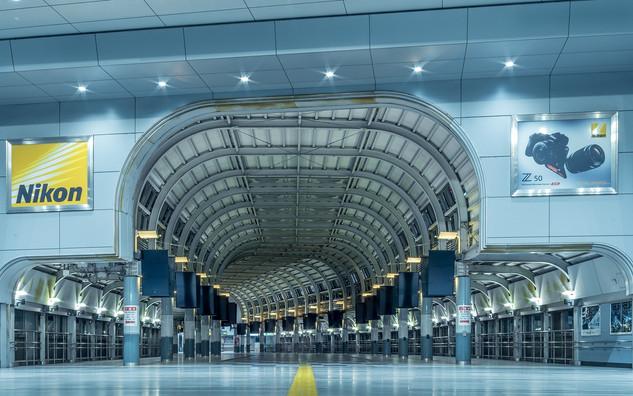 Shinagawa station empty