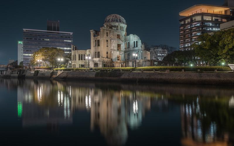 Nicolas Wauters Japan photography and Workshops - Hiroshima Genbaku Dome