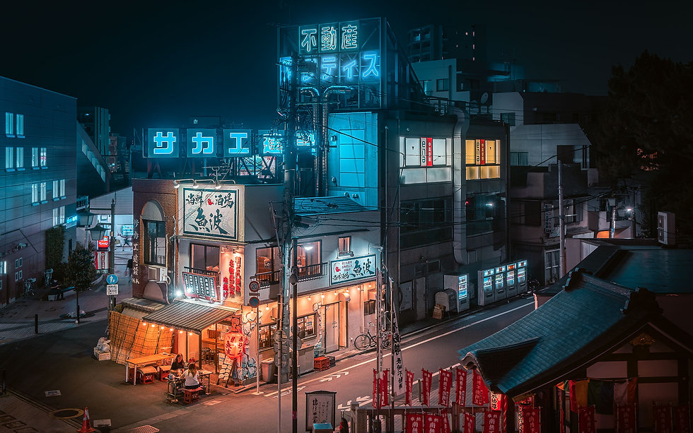 Tokyo Izakaya-Nicolas Wauters