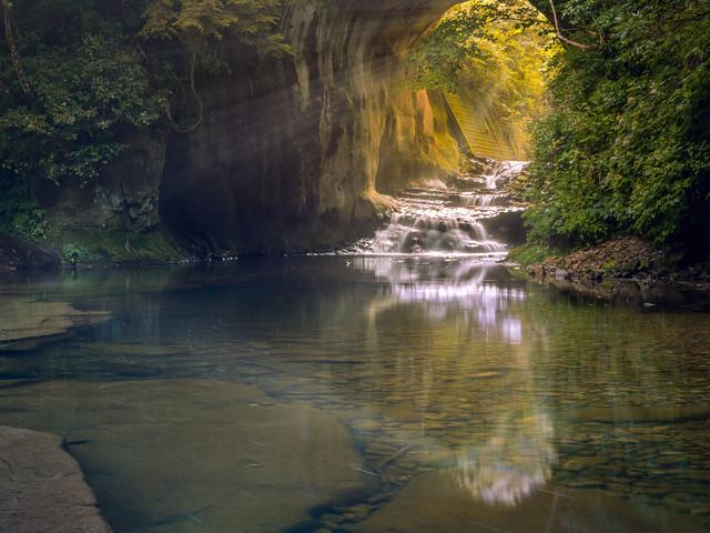 Chiba Nomizo falls