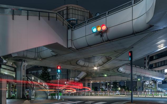 Ginza footbridge