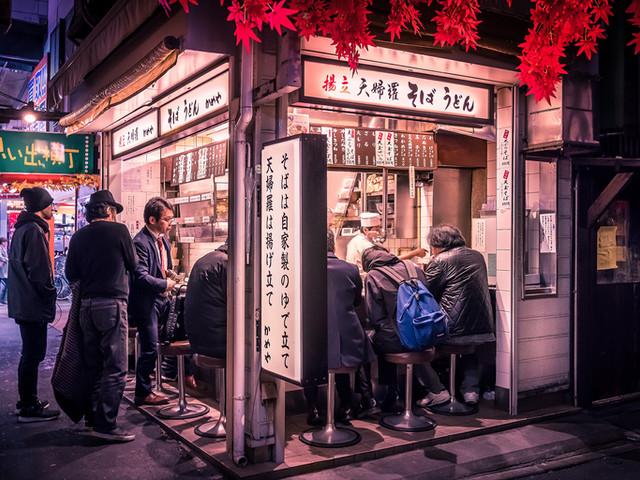 Omoide Yokocho Soba
