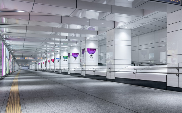 Les couloirs de Shinjuku