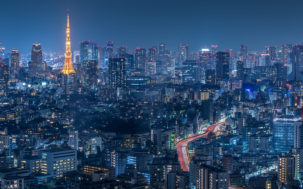 Tokyo overview - Japan photography workshop