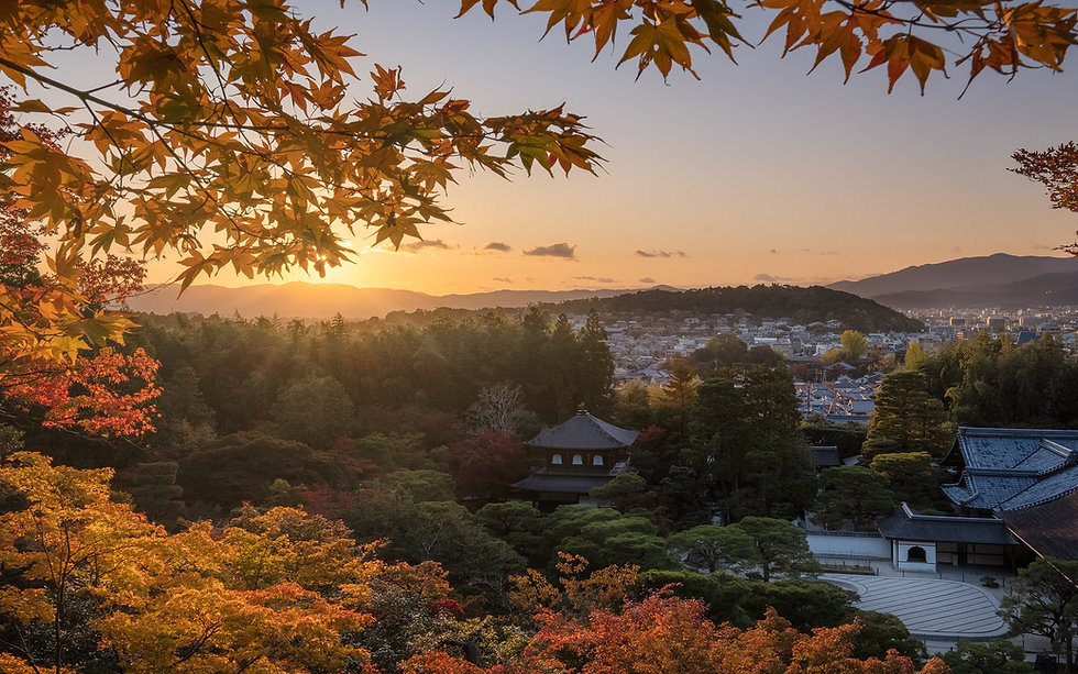 Ginkaku-ji sunset-Nicolas-Wauters