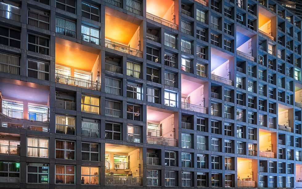 Tokyo Colorful appartement-Nicolas Waute
