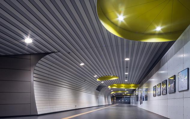 Yokohama subway station