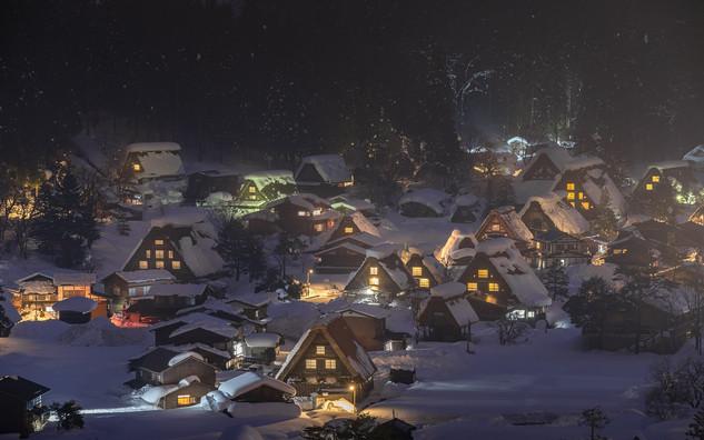 Le village de Shirakawago