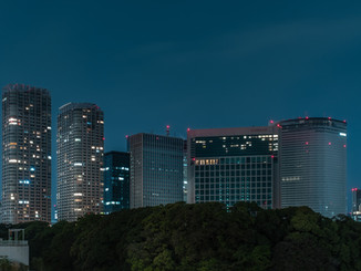 Shiodome buildings