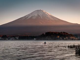 Pêcheur & Mont-Fuji