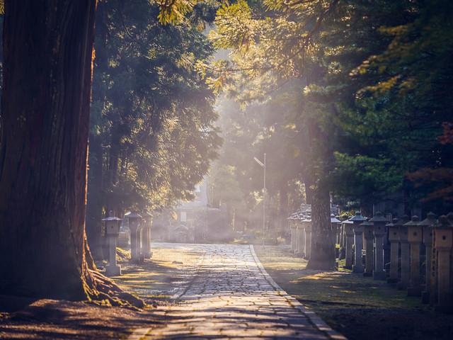 Le cimetière Okunoin de Koyasan