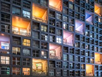 Appartements colorés