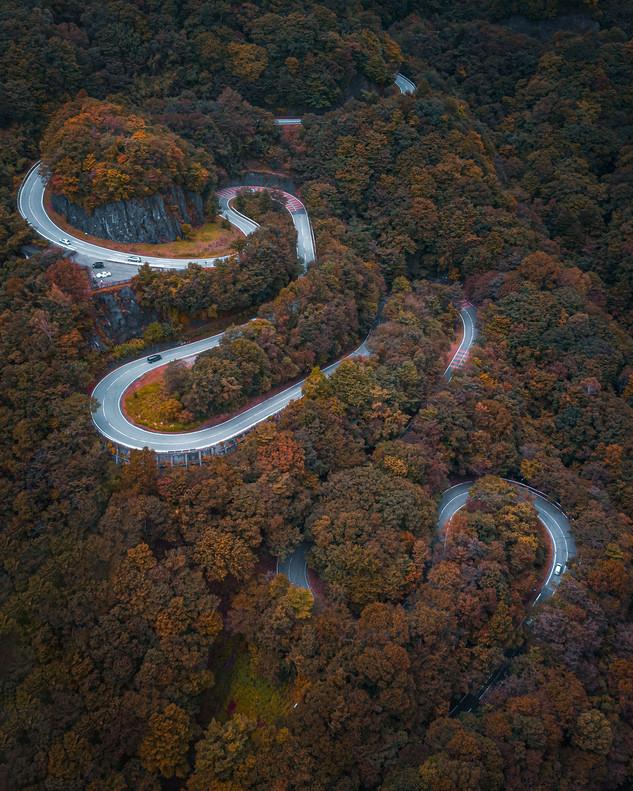 Les routes sinueuses de Nikko